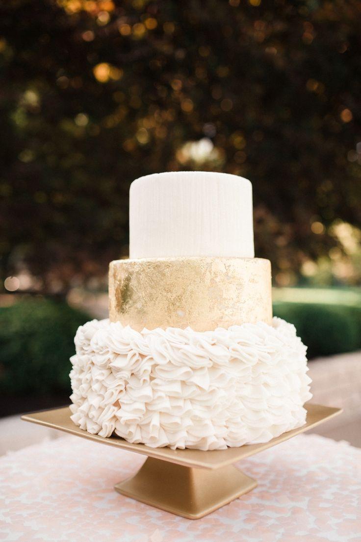 White Gold Wedding Cakes  Wedding Cake Tips of Tiers