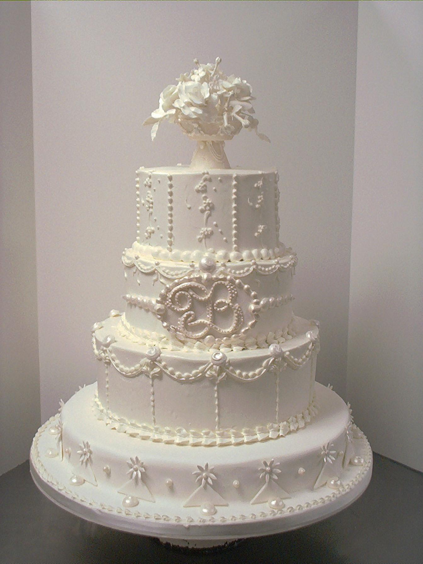 White Wedding Cake  AG W 9 Wedding Cake – allaboutlemon All Around In And