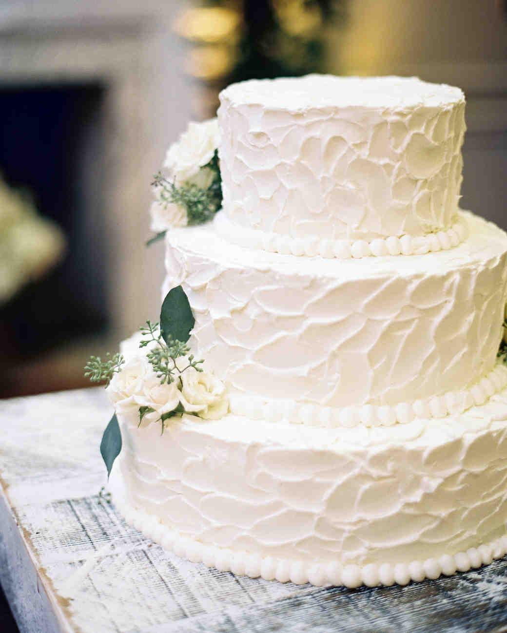 White Wedding Cake  104 White Wedding Cakes That Make the Case for Going