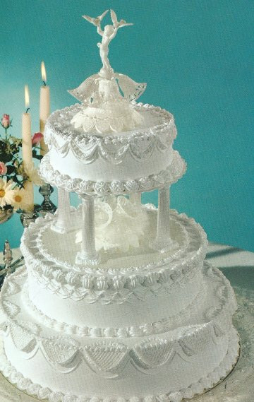 White Wedding Cake Frosting  White Wedding Cakes With Buttercream Frosting