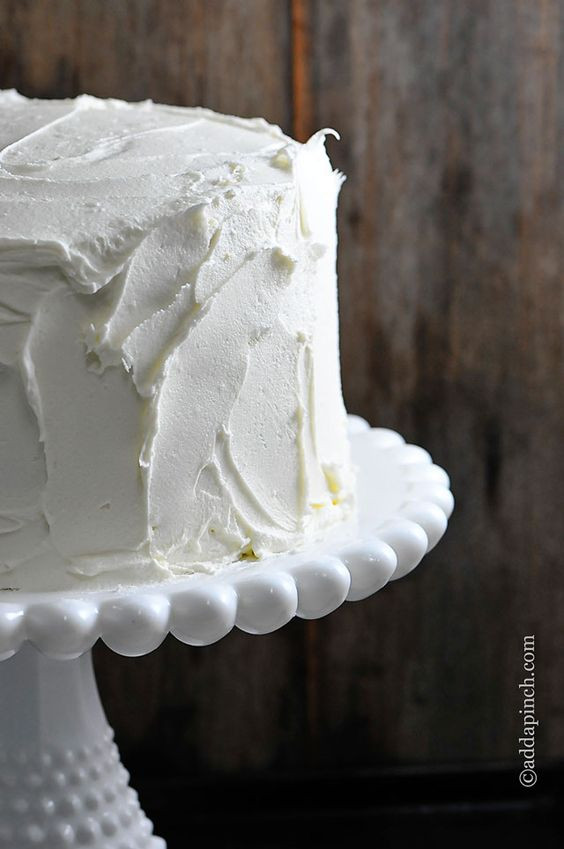 White Wedding Cake Frosting Recipes  Wedding The stand and Cakes on Pinterest