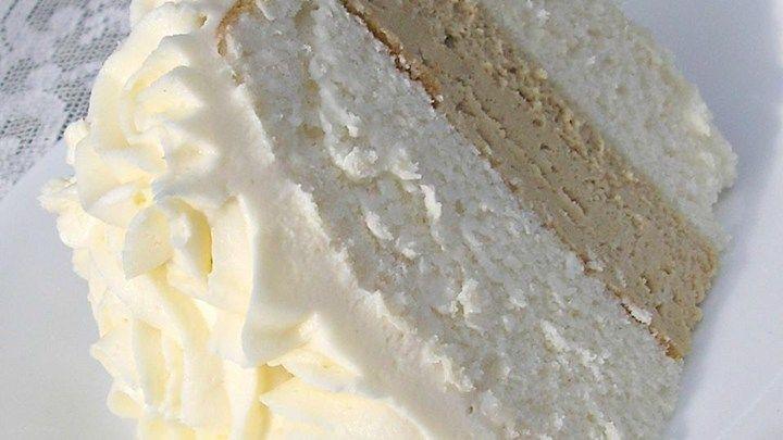 White Wedding Cake Frosting Recipes  White Almond Wedding Cake Semi Homemade Shop