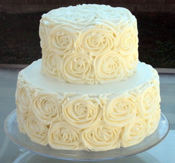 White Wedding Cake Icing  Best Buttercream Frosting for Wedding Cakes Wedding and