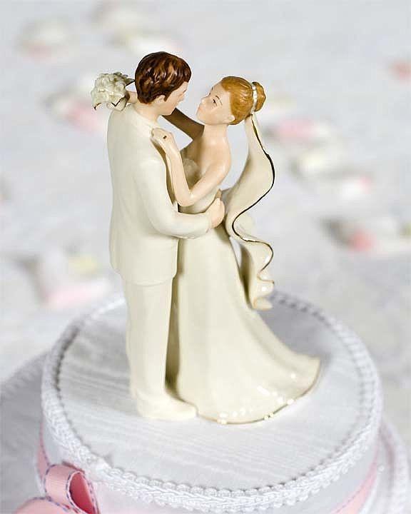 White Wedding Cake Topper  f White Porcelain Bride and Groom Wedding Cake Topper