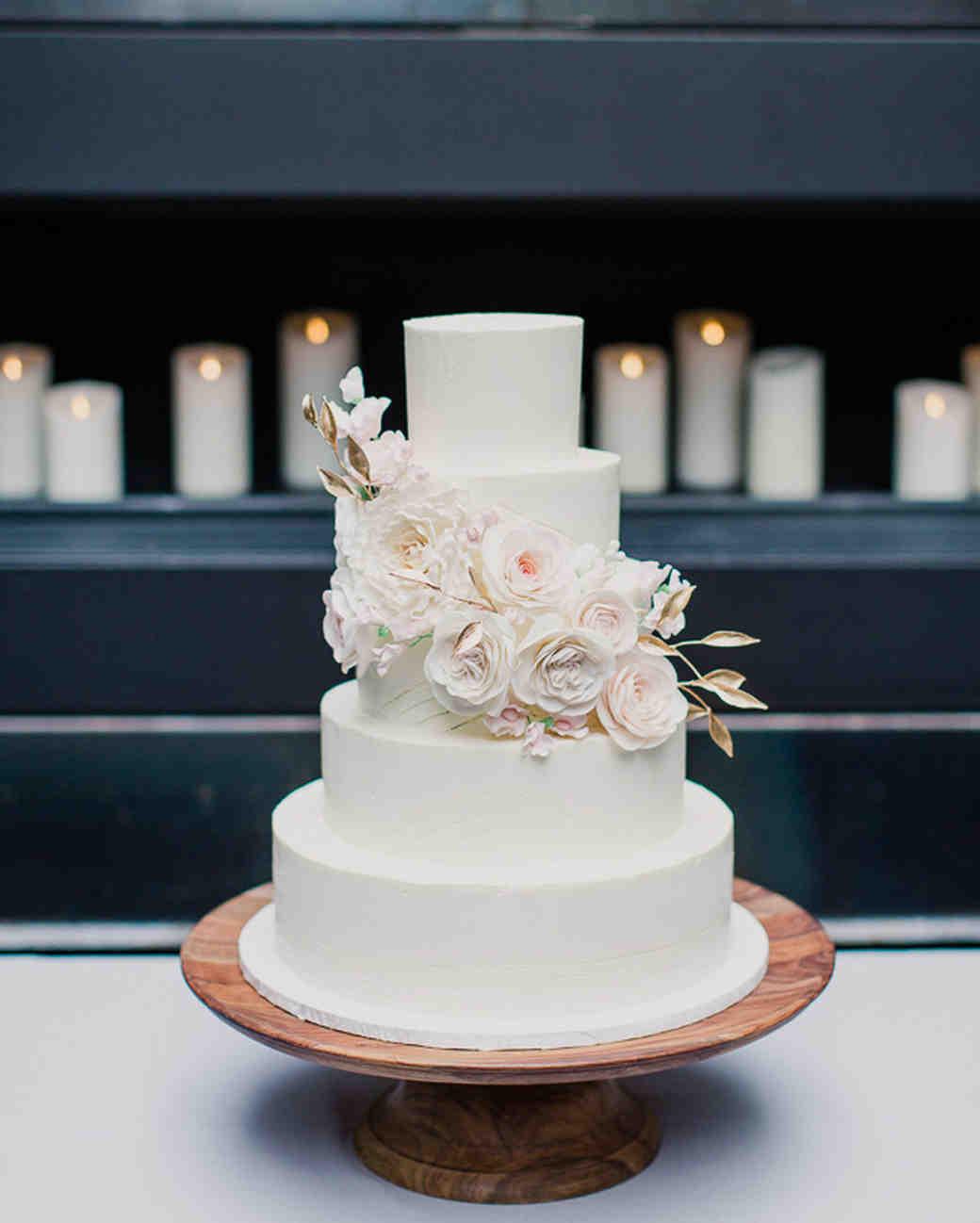 White Wedding Cakes  104 White Wedding Cakes That Make the Case for Going