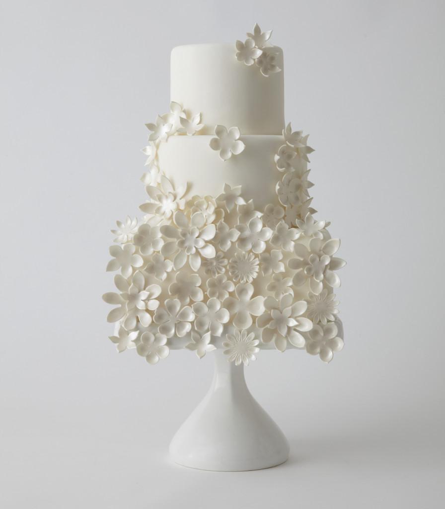 White Wedding Cakes  Modern Wedding Cakes
