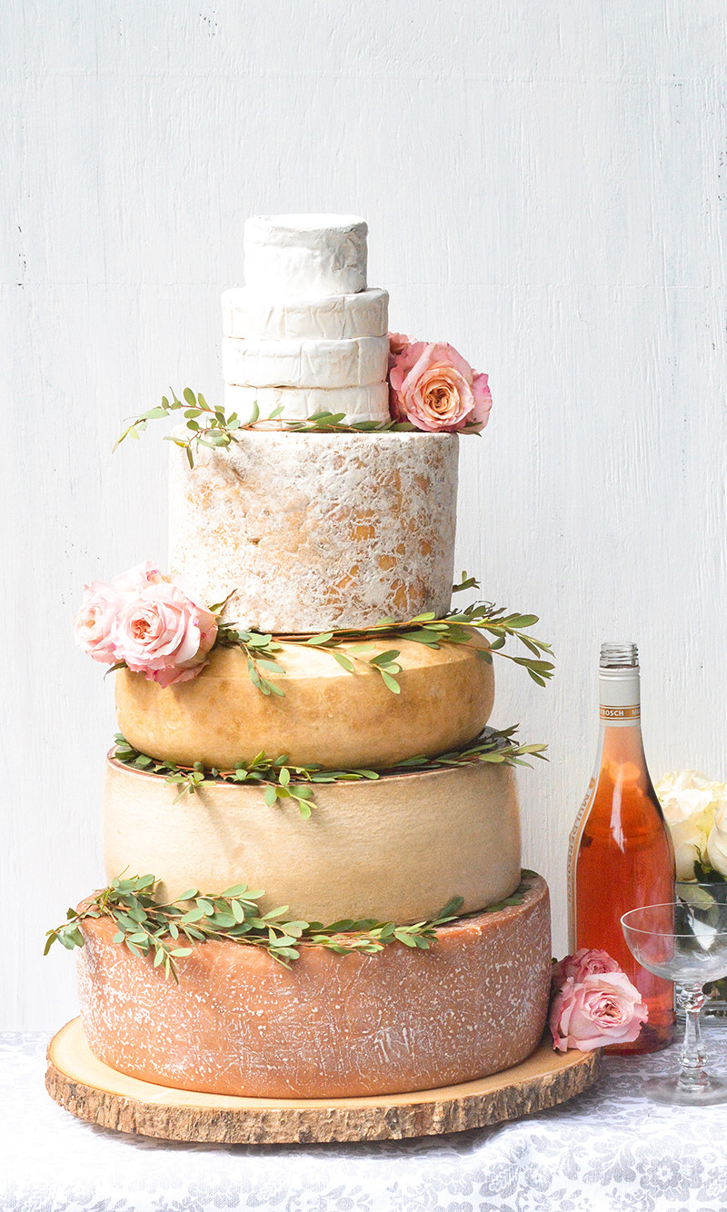 Who Makes Wedding Cakes  How to Make a DIY Cheese Wedding Cake Wisconsin Cheese Talk