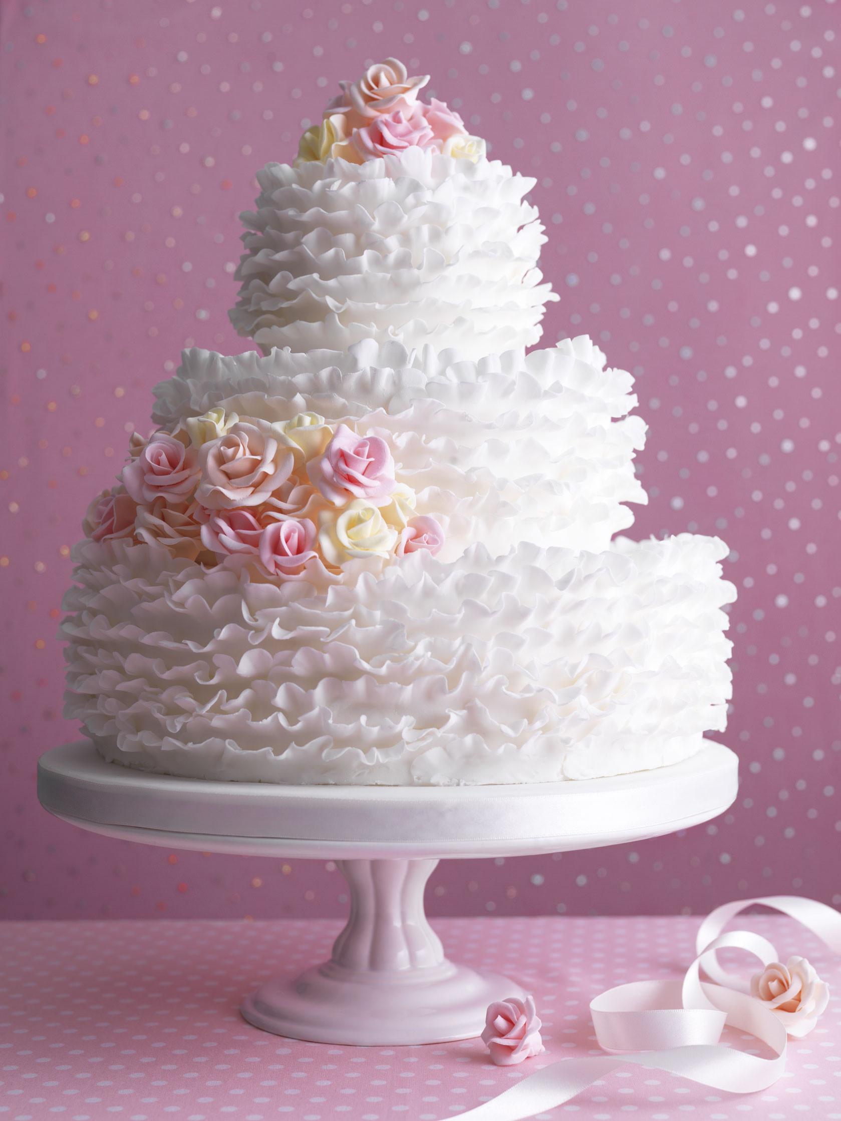 Who Makes Wedding Cakes  How to make a wedding cake