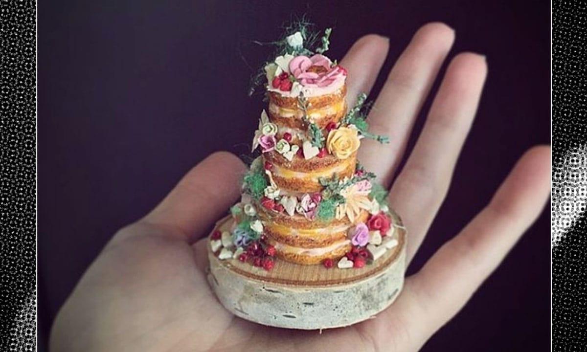 Who Makes Wedding Cakes  Tiers Joy This Woman Makes Teeny Tiny Wedding Cakes
