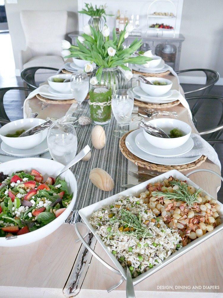 Whole Food Easter Dinner  Easy Easter Dinner Ideas Taryn Whiteaker