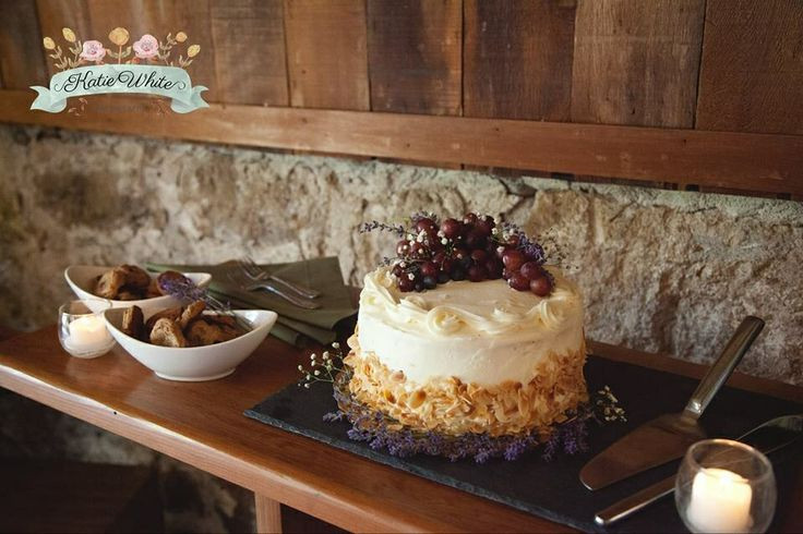 Whole Foods Wedding Cakes  Rustic vineyard wedding cake Whole Foods Berry Chantilly