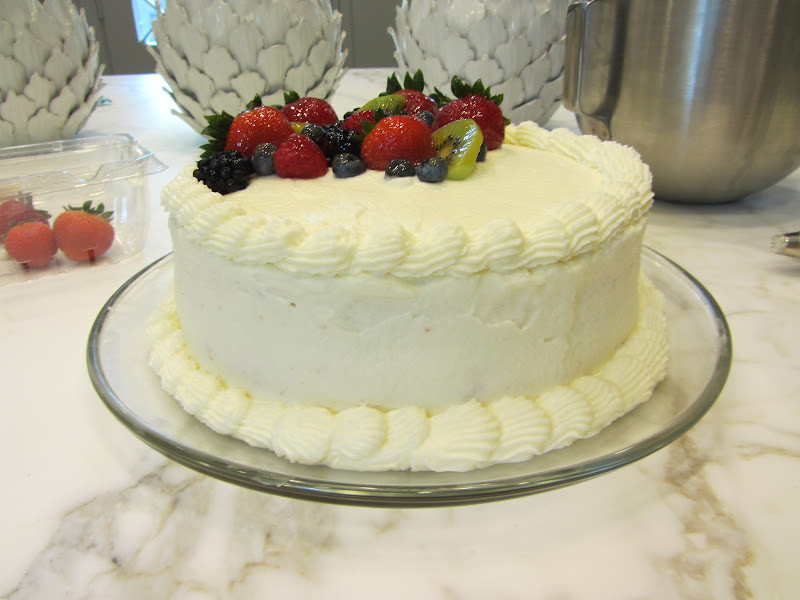 Whole Foods Wedding Cakes  A Sue Chef Whole Foods Chantilly Cake
