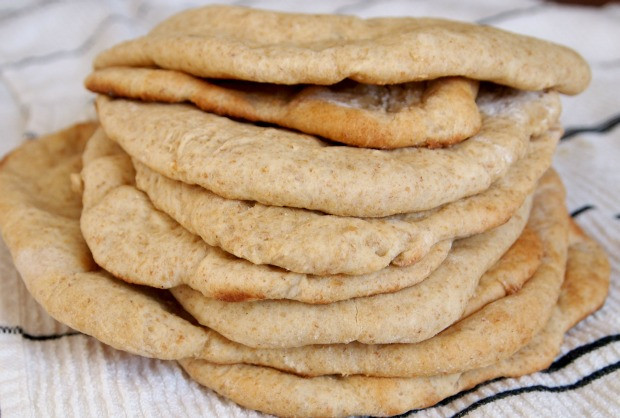 Whole Wheat Pita Bread Healthy  Best Healthy Breakfast Menu Ideas The Coconut Daily