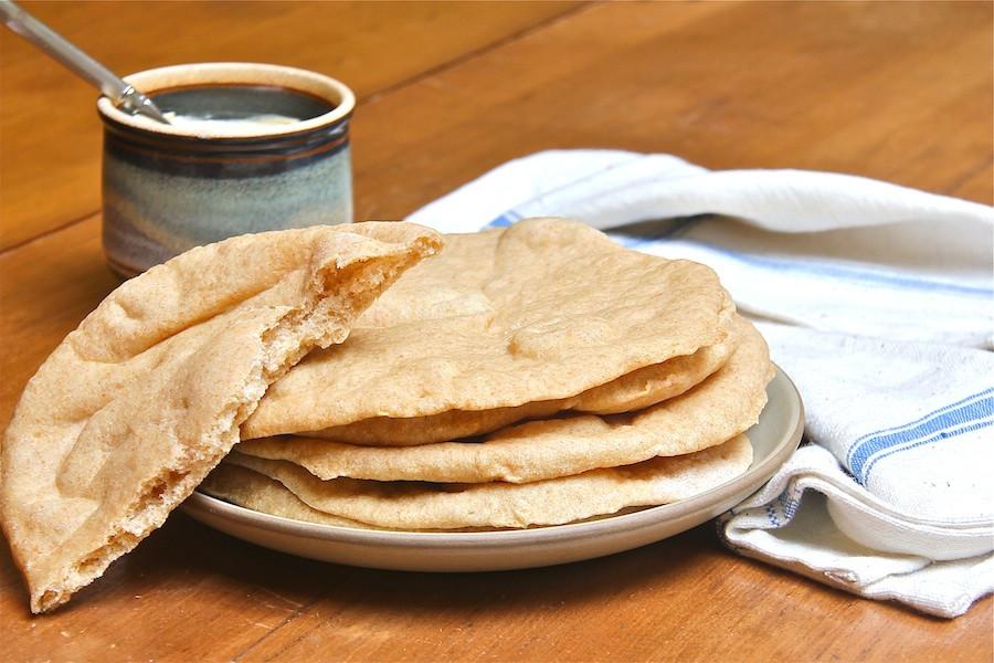 Whole Wheat Pita Bread Healthy  Easy Whole Wheat Pita Bread