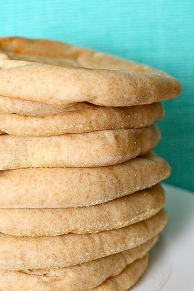 Whole Wheat Pita Bread Healthy  A Fast and Easy Recipe to Make Pizza Using Pita Bread