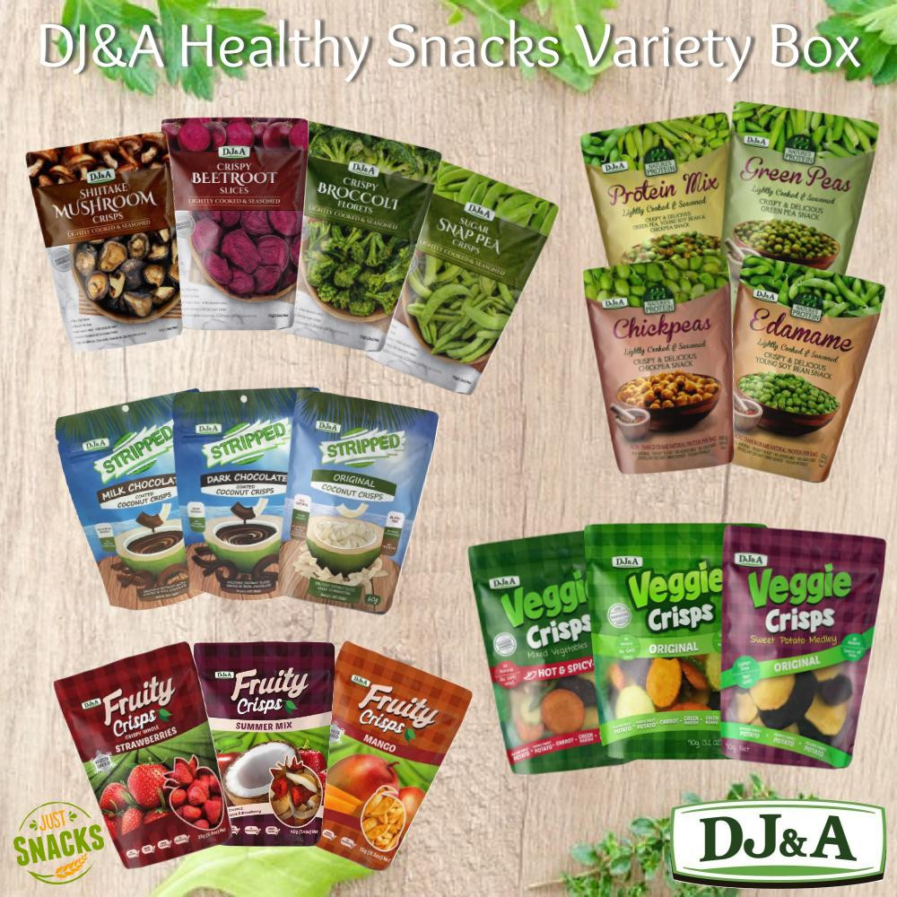 Wholesale Healthy Snacks  DJ&A Healthy Snacks Variety Box