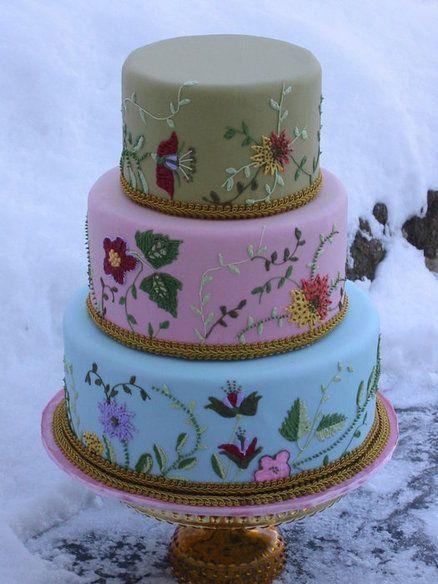 Wildflower Wedding Cakes  17 Best ideas about Wildflower Cake on Pinterest