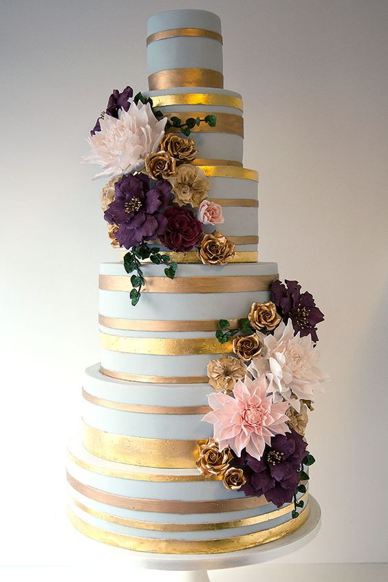 Wildflower Wedding Cakes  15 wedding cakes with roses that will water your mouth