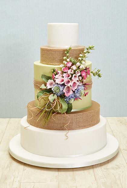 Wildflower Wedding Cakes  Top Ten Hottest Wedding Cake Trends