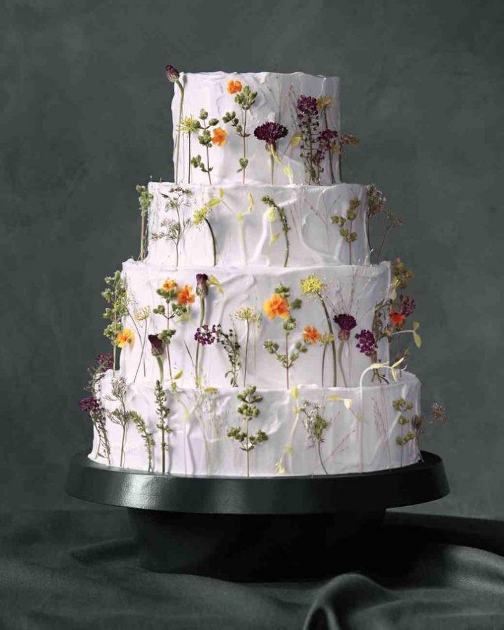 Wildflower Wedding Cakes  Cakes With Cake Ideas