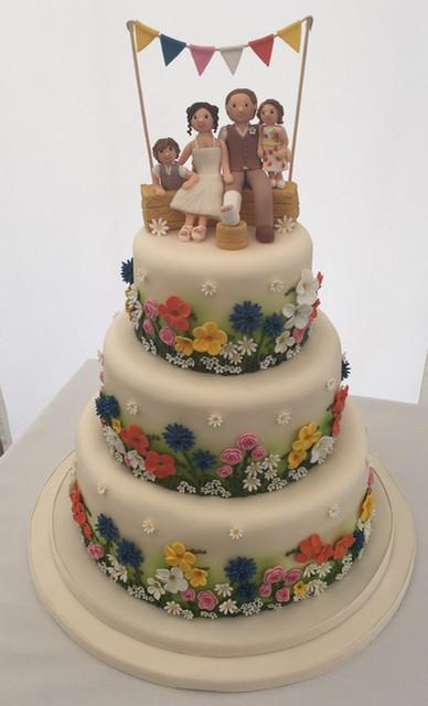 Wildflower Wedding Cakes  Sarah Bates Cakes