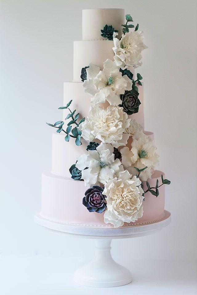 Wildflower Wedding Cakes  25 best ideas about Wildflower Cake on Pinterest