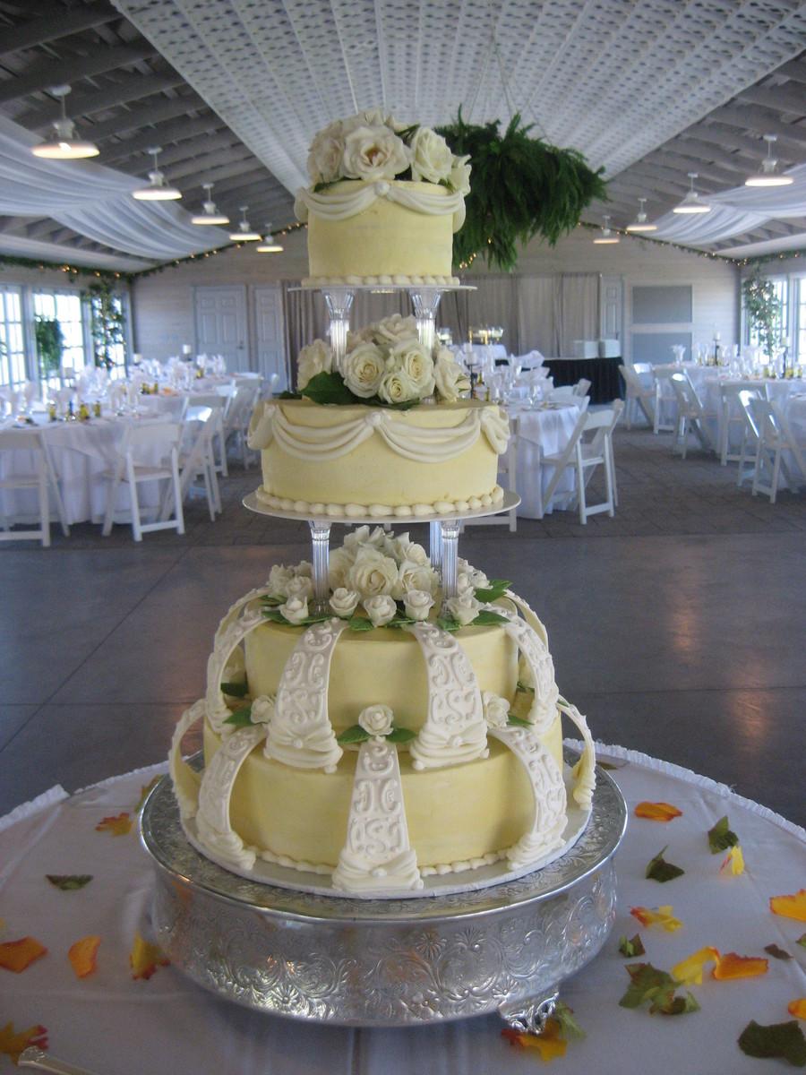 Wilton Wedding Cakes  Wilton Style Wedding Cake CakeCentral