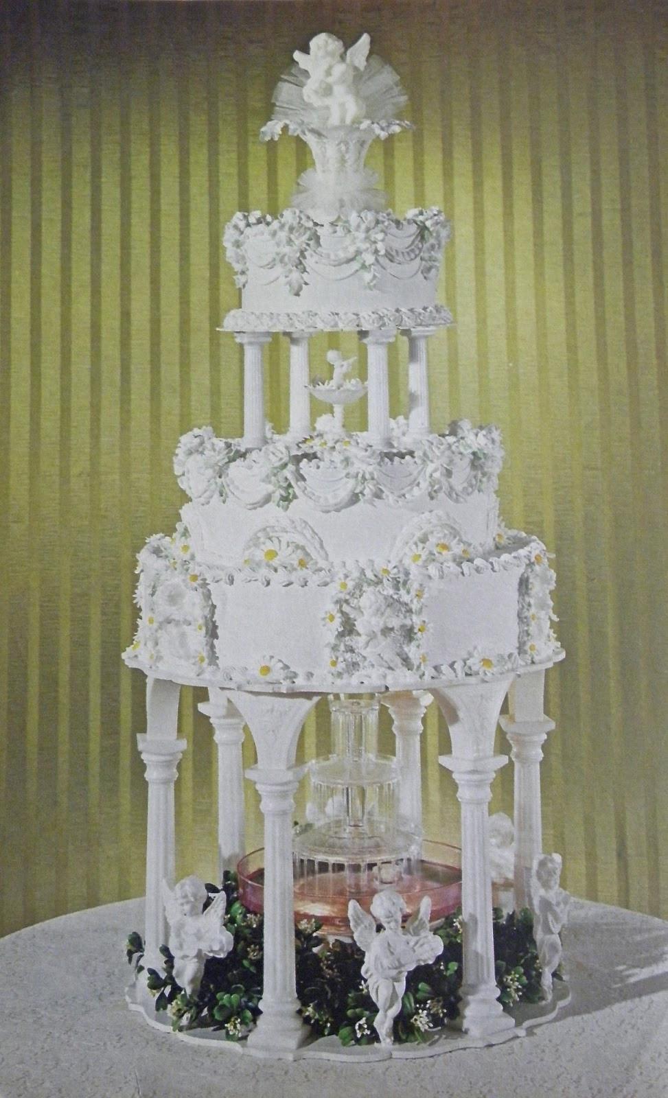 Wilton Wedding Cakes  Good Things by David Vintage Wilton Wedding Cakes