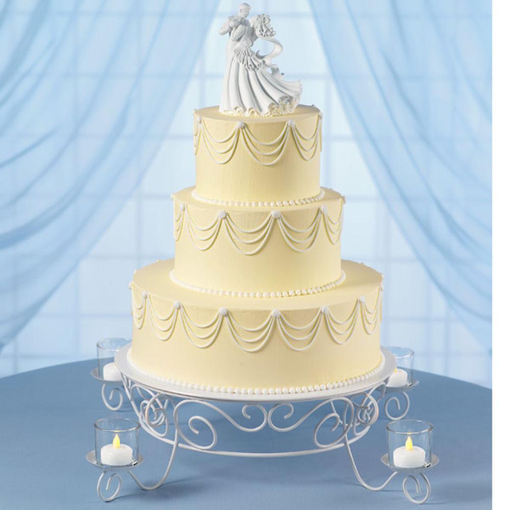 Wilton Wedding Cakes  Garland s Glow Wedding Cake