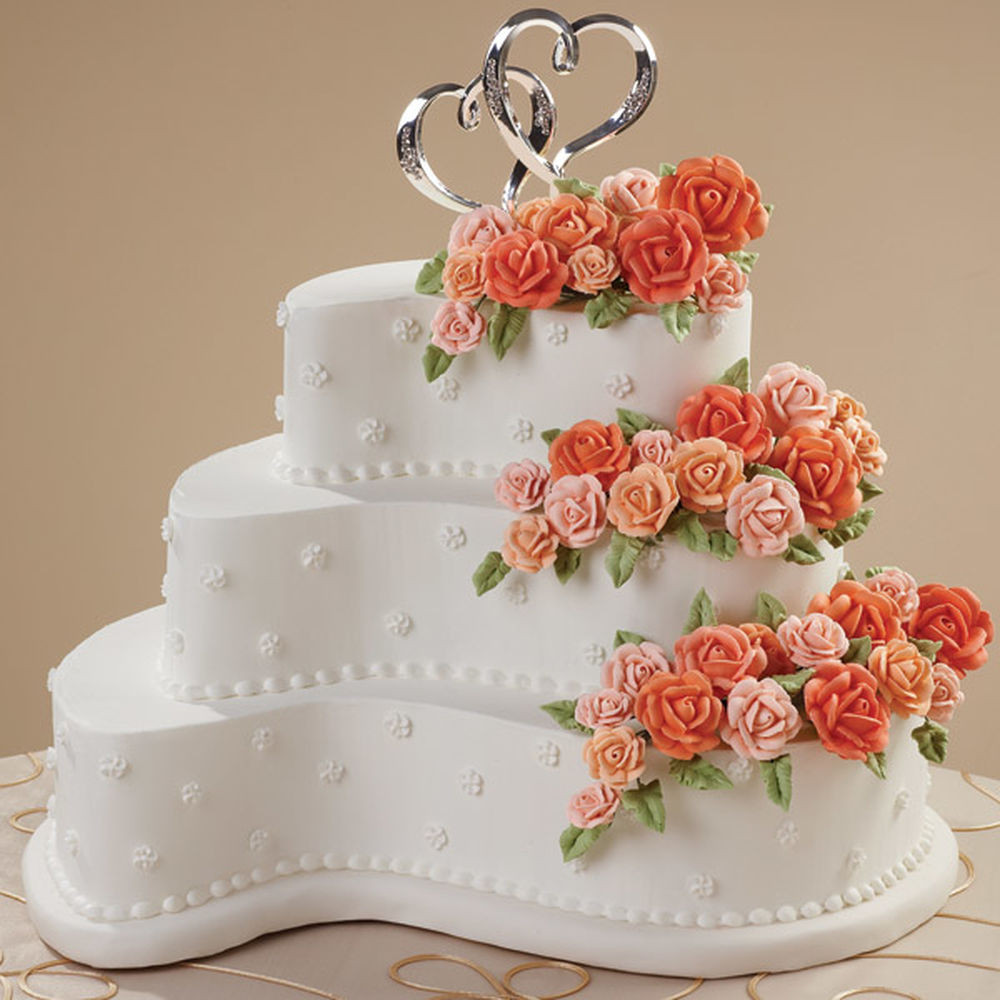 Wilton Wedding Cakes  Contemporary Curves Cake