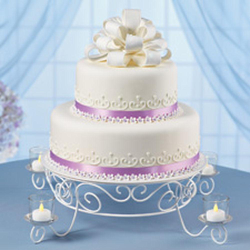 Wilton Wedding Cakes  Votive Candlelight Cake Stand