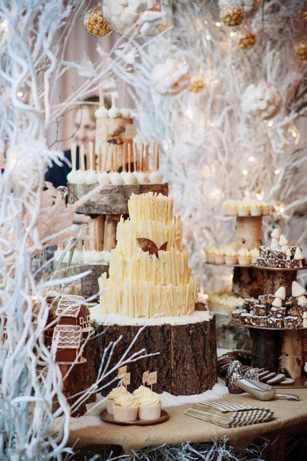 Winter Themed Wedding Cakes  35 Fabulous Winter Wedding Cakes We Love