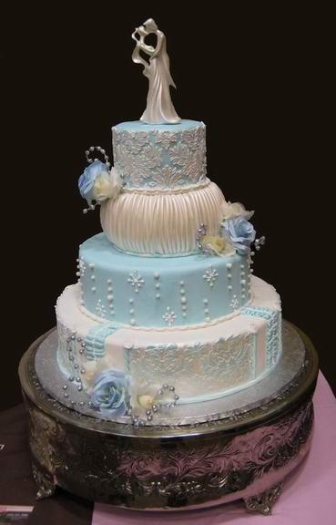 Winter Themed Wedding Cakes  Winter Wedding Cake Ideas