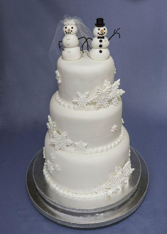 Winter Themed Wedding Cakes  41 Adorable Winter Wedding Cake Ideas