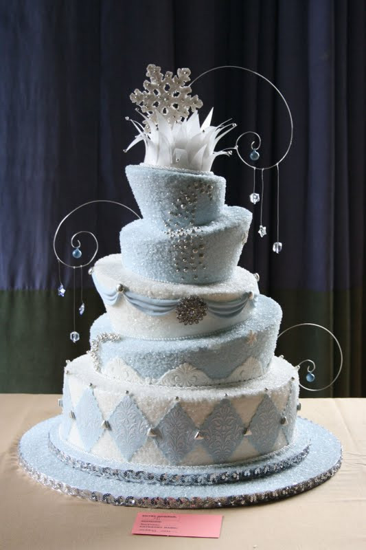 Winter Wonderland Wedding Cakes  All About Wedding Cake Winter Wonderland Wedding Cakes
