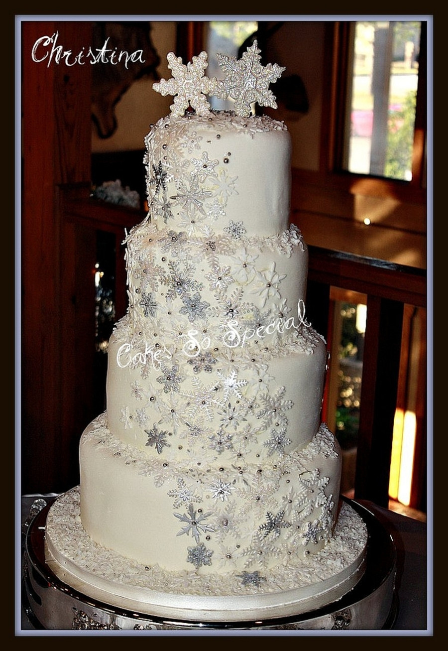 Winter Wonderland Wedding Cakes  Winter Wonderland CakeCentral
