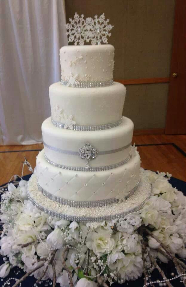 Winter Wonderland Wedding Cakes  Winter wonderland wedding cakes idea in 2017