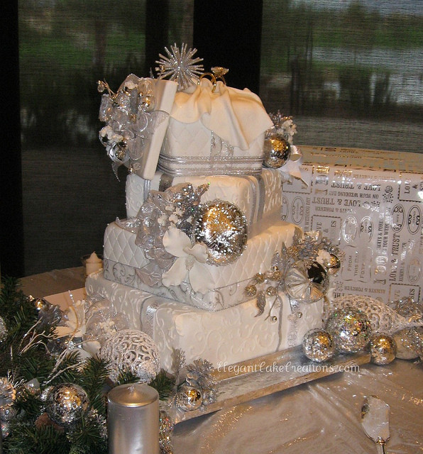 Winter Wonderland Wedding Cakes  Winter Wonderland Wedding Cake