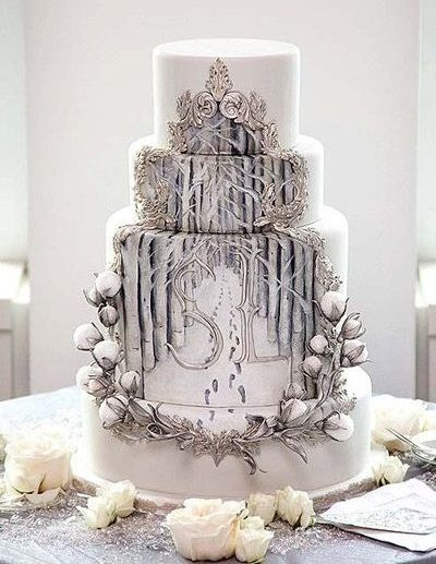 Winter Wonderland Wedding Cakes  Winter Wonderland Wedding Cakes