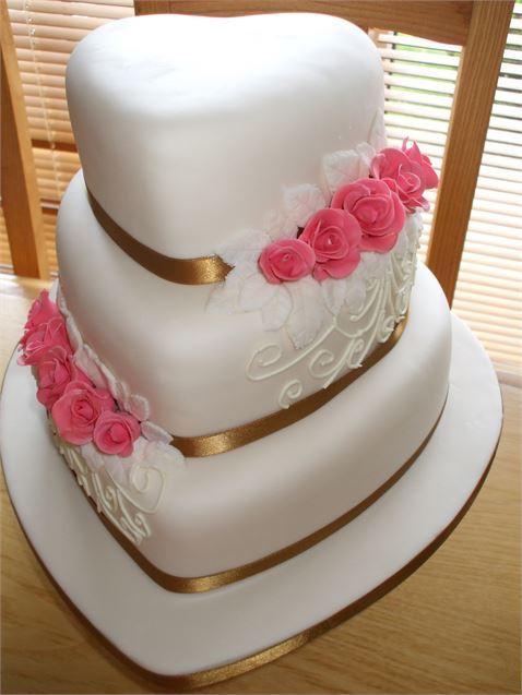 Wonderful Wedding Cakes  The Simply Wonderful Wedding Cake from Simply Elegant