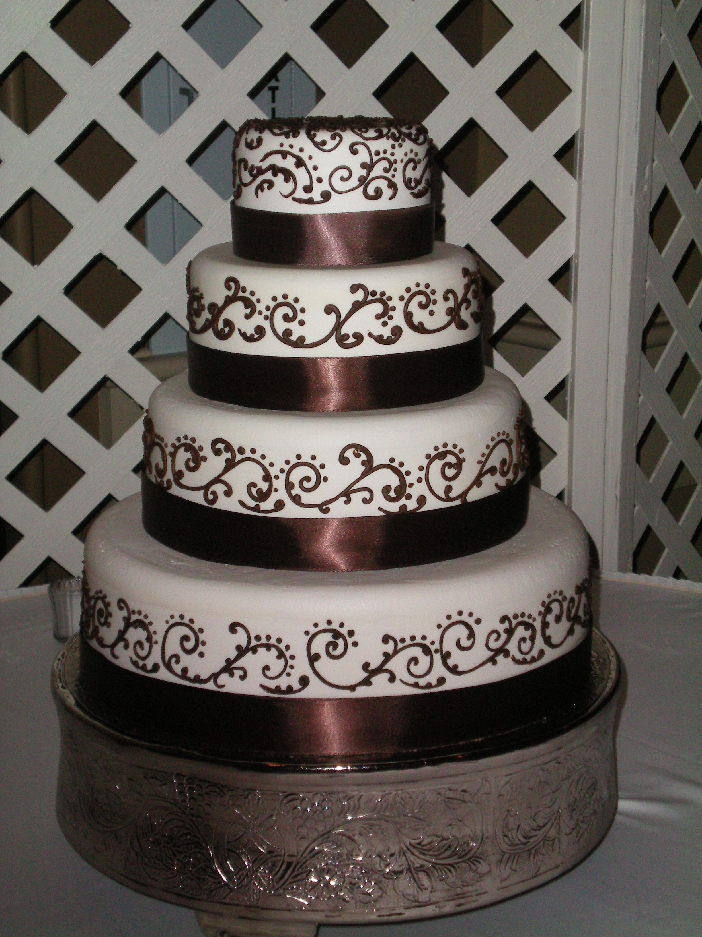 Wonderful Wedding Cakes  Orange Tree Wedding Cakes