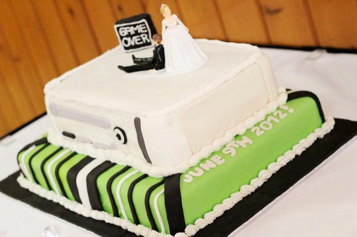 Xbox Wedding Cakes  Xbox Wedding cake Wedding Ideas Pinterest