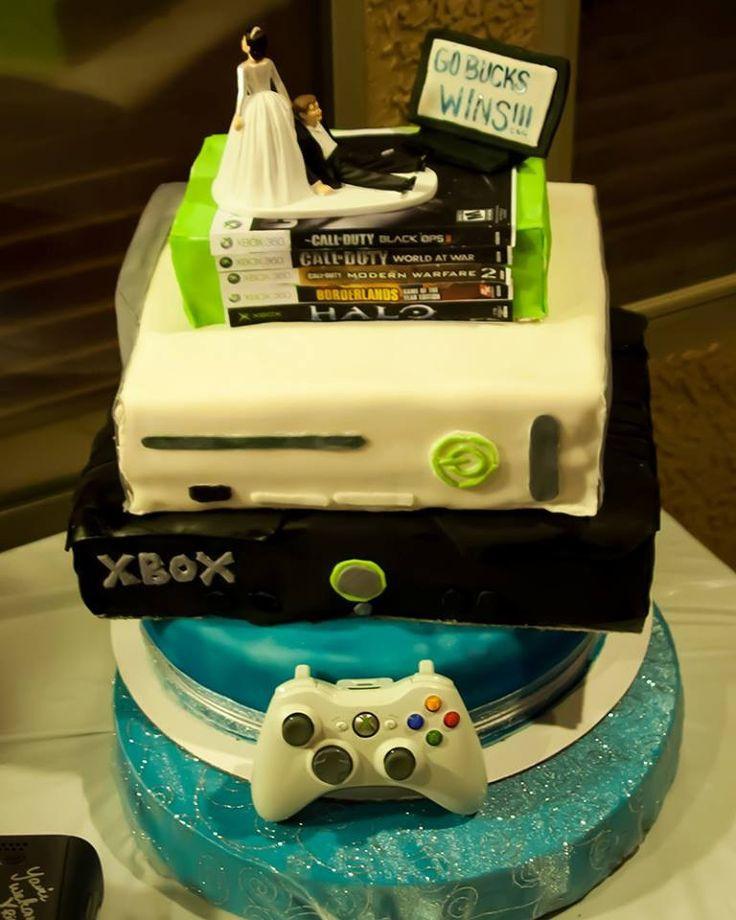 Xbox Wedding Cakes  Xbox wedding cake Wedding Stuff
