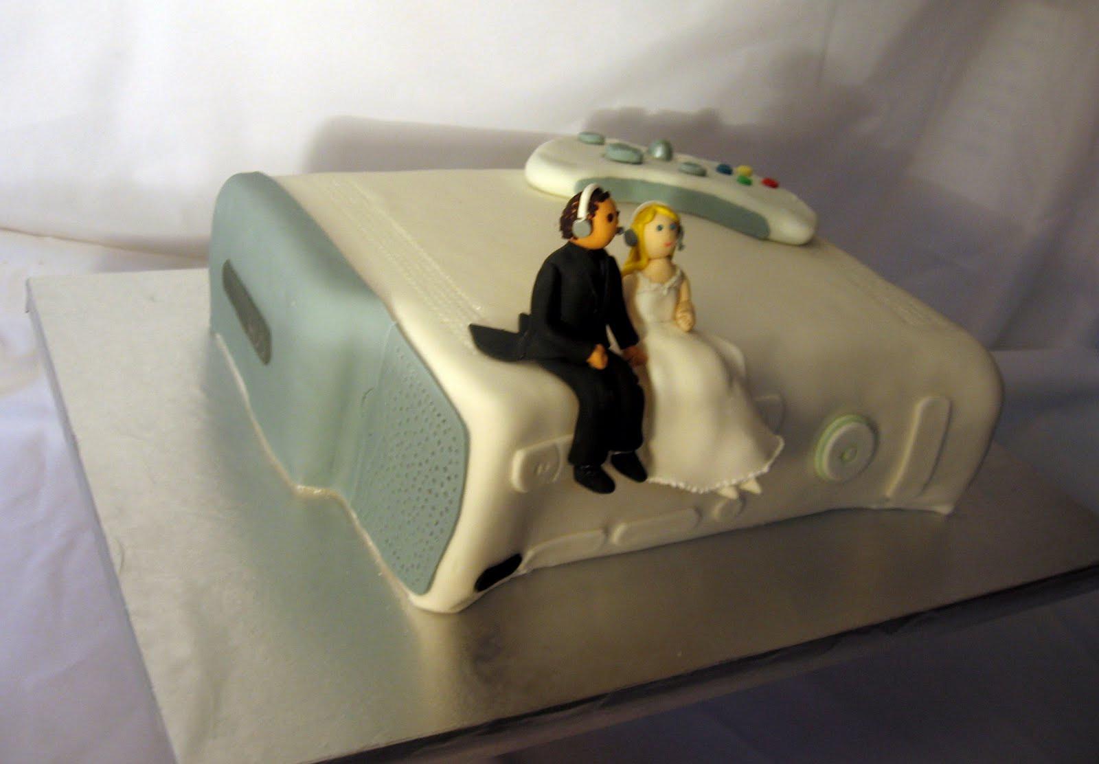 Xbox Wedding Cakes  Cake Fiction XBox 360 Groom s Cake