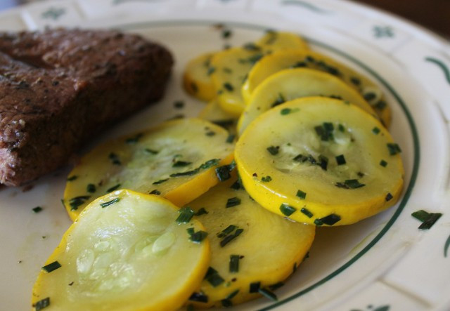 Yellow Summer Squash Recipes  Summer Squash with Chives