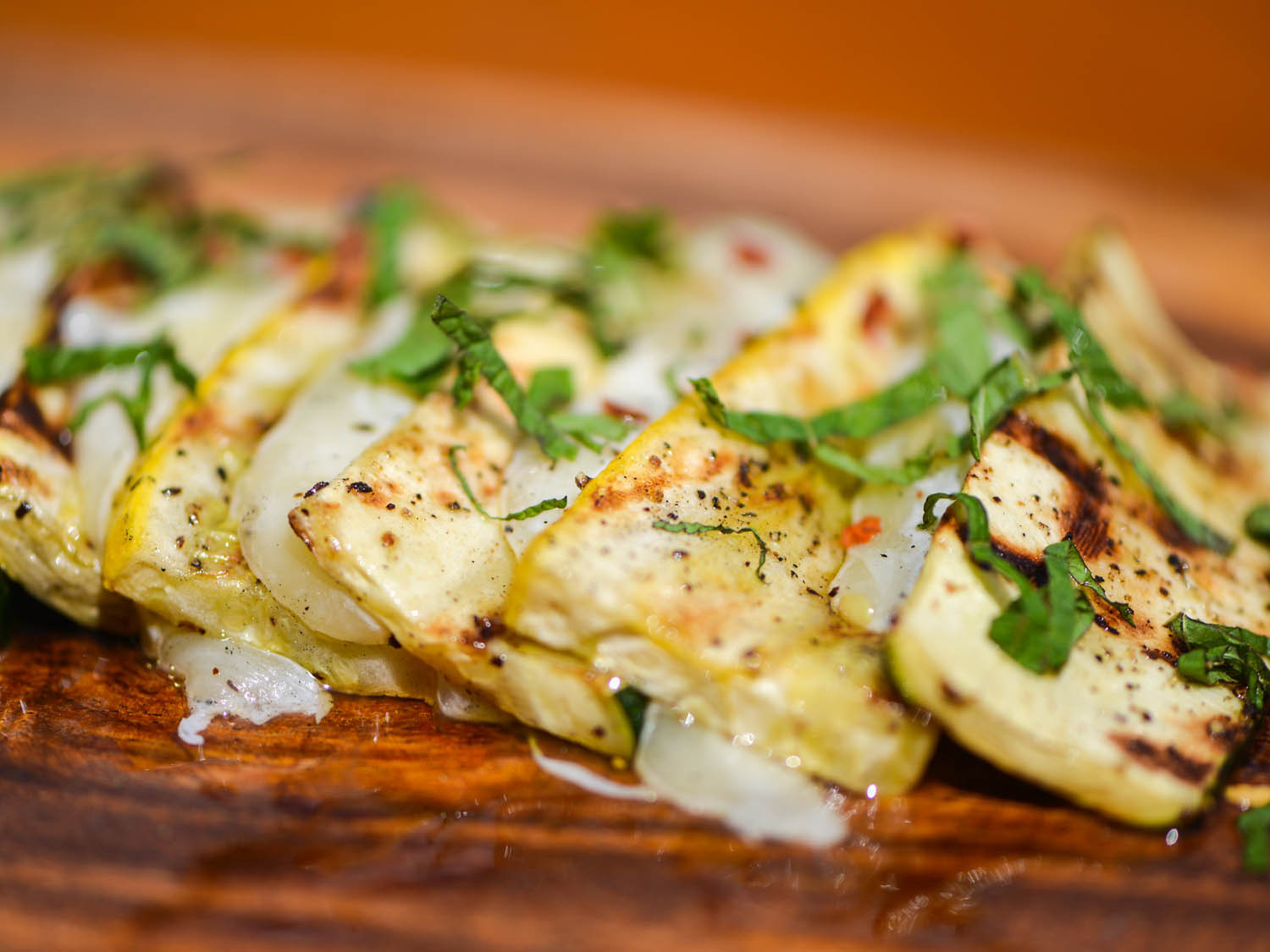 Yellow Summer Squash Recipes  Grilled Summer Squash and Kasseri Cheese With Lemon and
