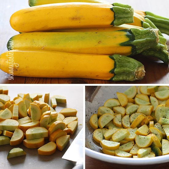 Yellow Summer Squash Recipes  Roasted Yellow Squash