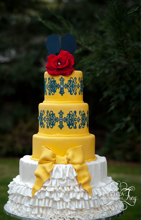 Yellow Wedding Cake  Southern Blue Celebrations Yellow Cake Ideas & Inspirations