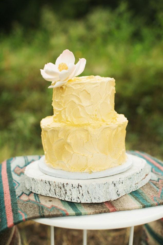 Yellow Wedding Cake  Yellow Wedding Cake Inspiration