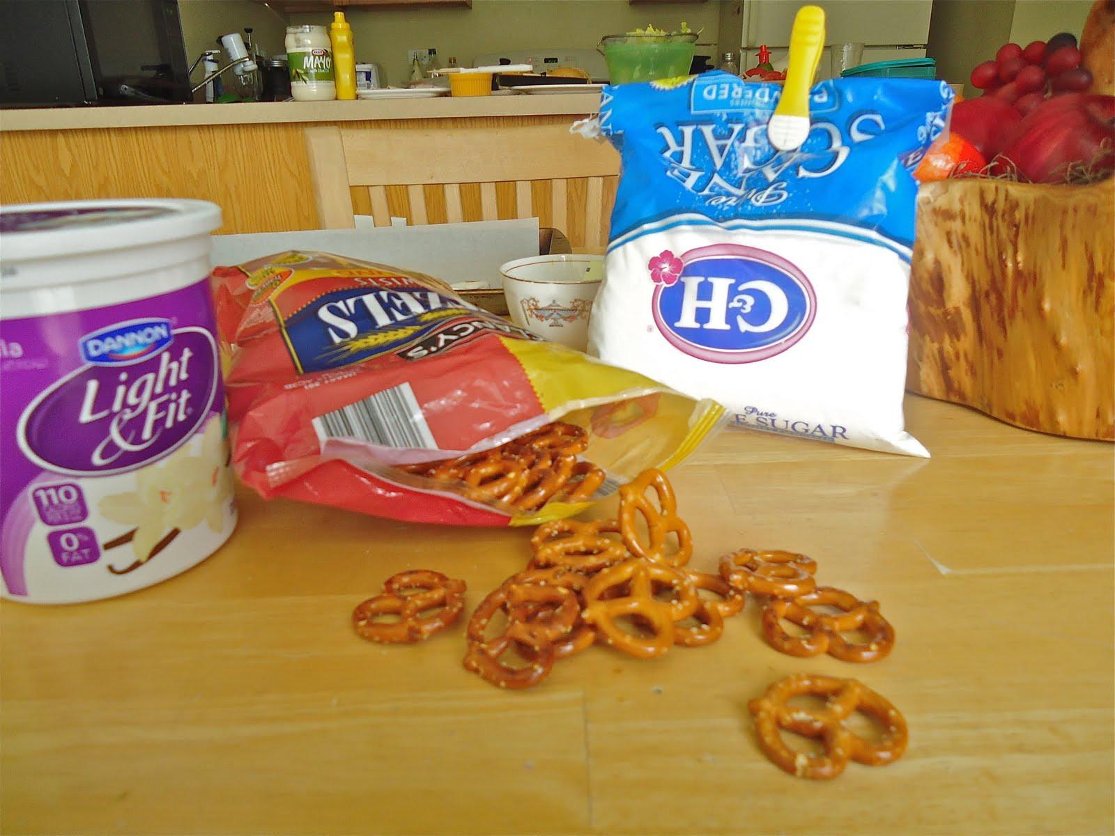 Yogurt Covered Pretzels Healthy  So Creative Healthy Snack Yogurt Covered Pretzels